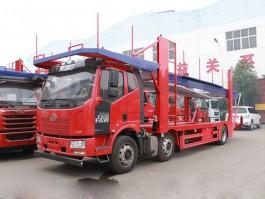 解放J6小三轴轿运车 (5)