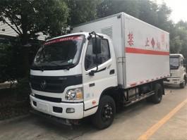 程力福田欧马可5.1米爆破器材运输车