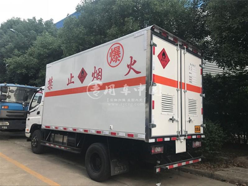 福田欧马可5.1米爆破器材运输车