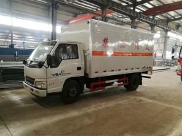 程力江铃顺达4.2米爆破器材运输车