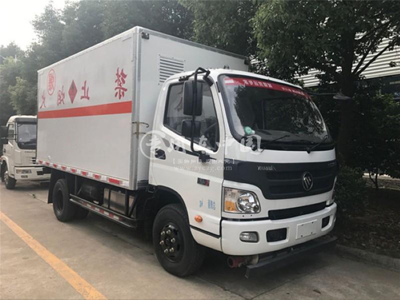 欧马可5米易燃固体运输车