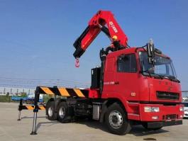 华菱牵引拖头25吨折臂随车吊 (5)