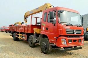 东风国五小三轴12吨随车吊价格36.88