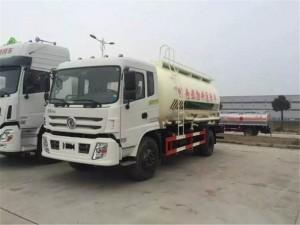 东风特商18方粉粒物料运输车