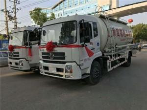 程力东风天锦18方粉粒物料运输车