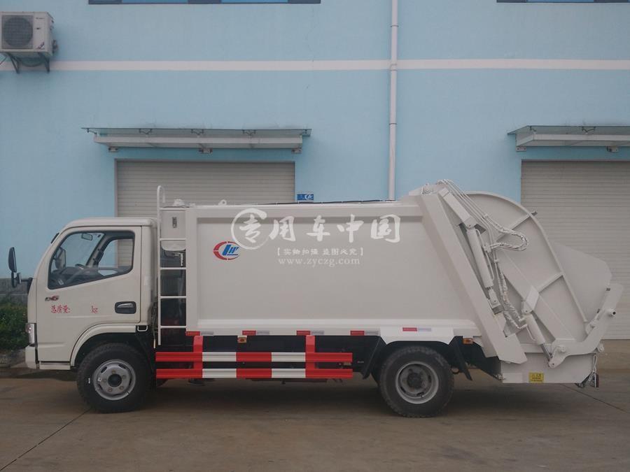 东风5立方压缩式垃圾车