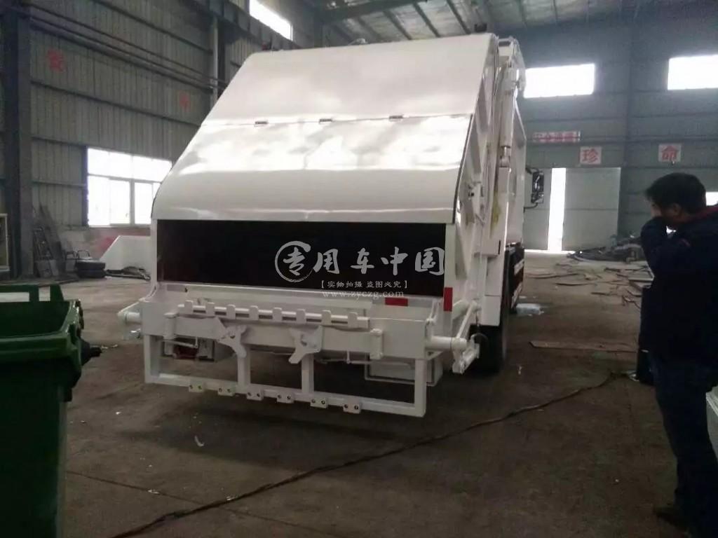 东风专底12方压缩式垃圾车