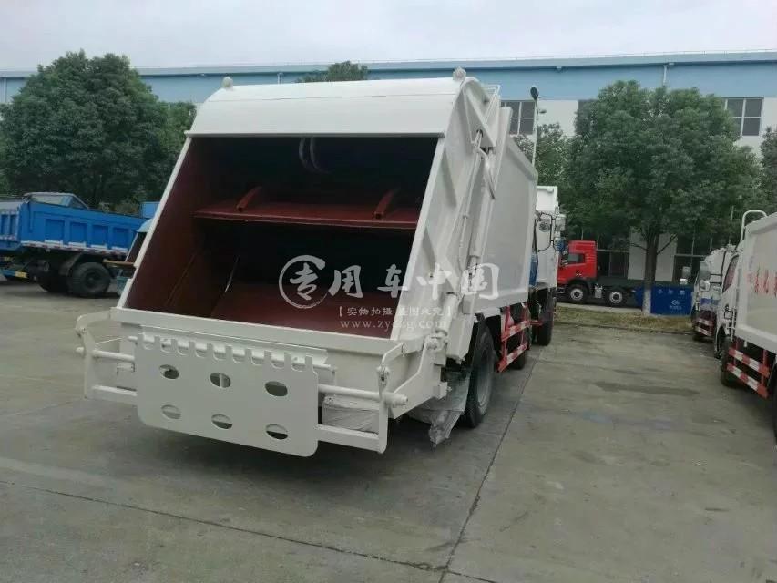 东风153压缩式垃圾车