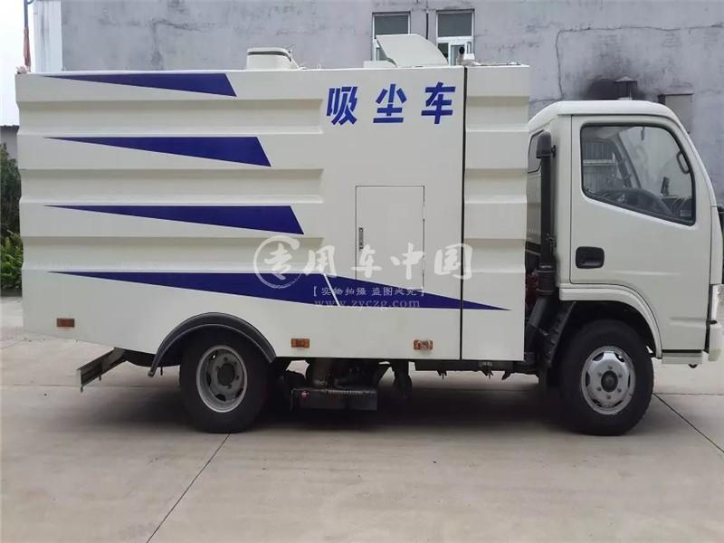 程力东风福瑞卡扫路车图片