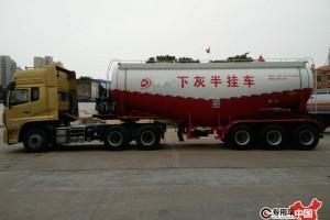 最新国五45方粉粒物料运输车价格表