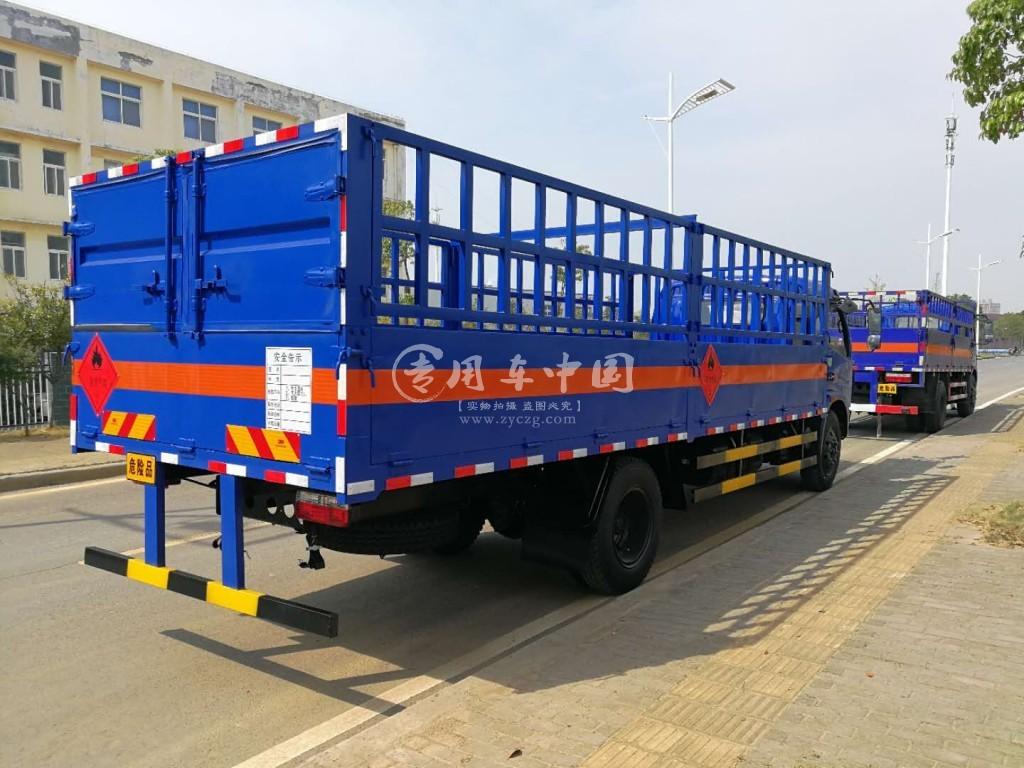 东风多利卡6.5米气瓶运输车