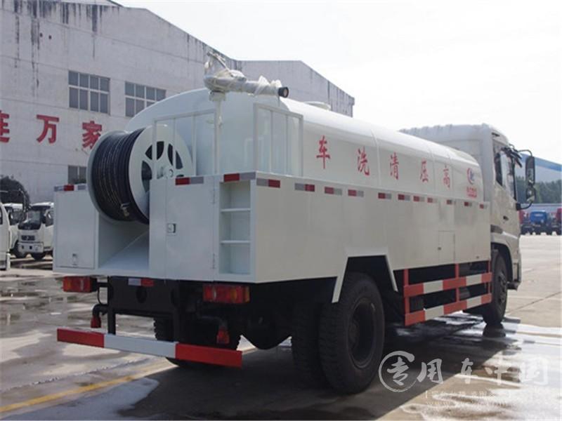 东风天锦10方高压清洗车图片