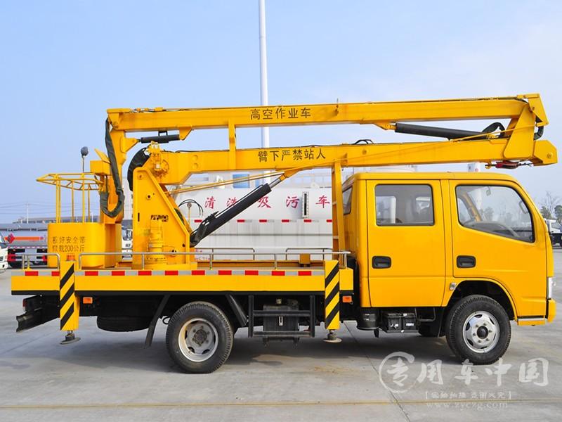 东风多利卡14米高空作业车图片