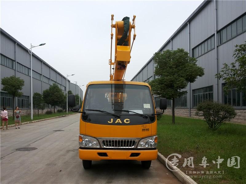 江淮14米高空作业车图片