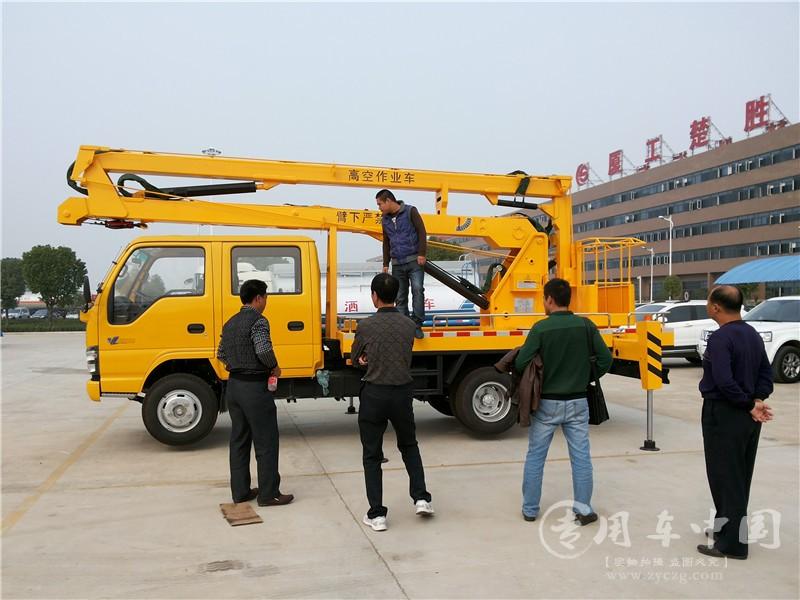 五十铃16米高空作业车图片