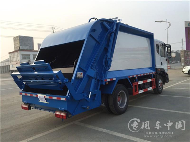 东风D9 10方压缩式垃圾车图片