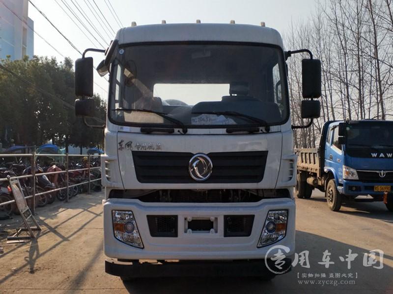 东风专底10方摆臂式垃圾车图片