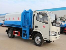 程力东风多利卡5方挂桶式垃圾车