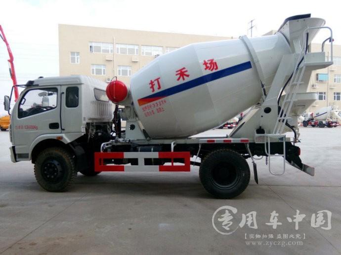 陕汽6方水泥罐车