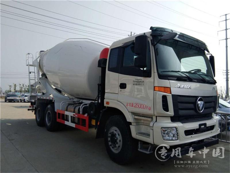 福田欧曼12方水泥罐车