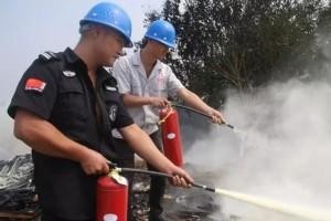 湖北程力集团开展消防实战演习