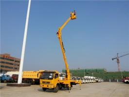 程力东风多利卡18米高空作业车