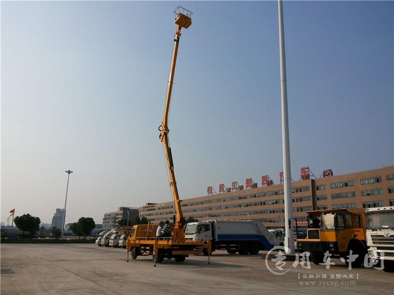 东风多利卡18米高空作业车图片