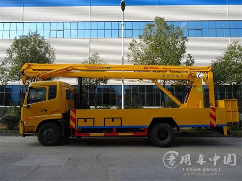 东风天锦22米高空作业车图片