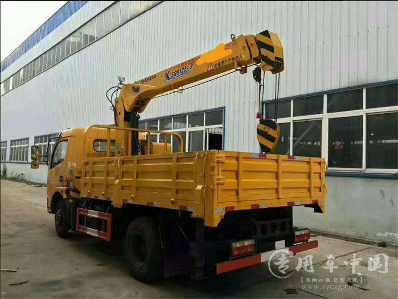 东风福瑞卡3.2吨随车吊图片
