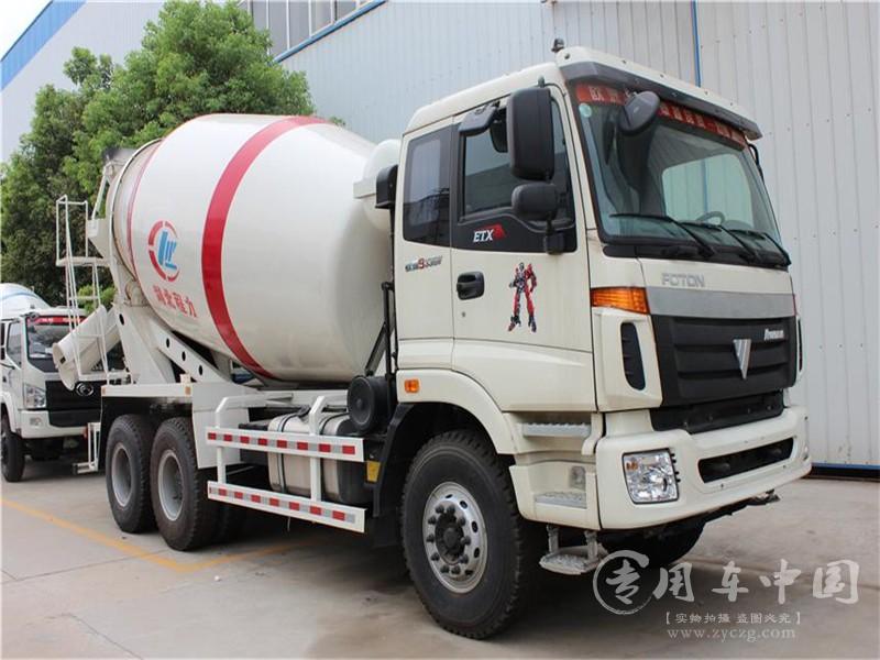 福田欧曼10方水泥罐车