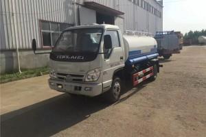 北京洒水车刘先生订购的两台福田洒水车即将发往嘉峪关