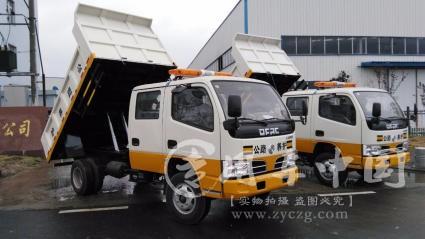 东风多利卡国五双排自卸车