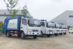 河北压缩式垃圾车洛阳市伊川县6台齐发