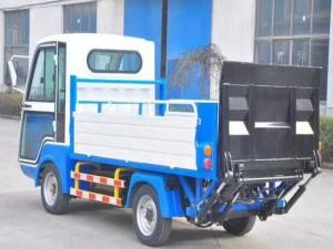 程力电动四轮桶装清运车