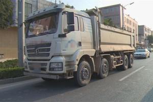 深圳多部门联合整治非法泥头车
