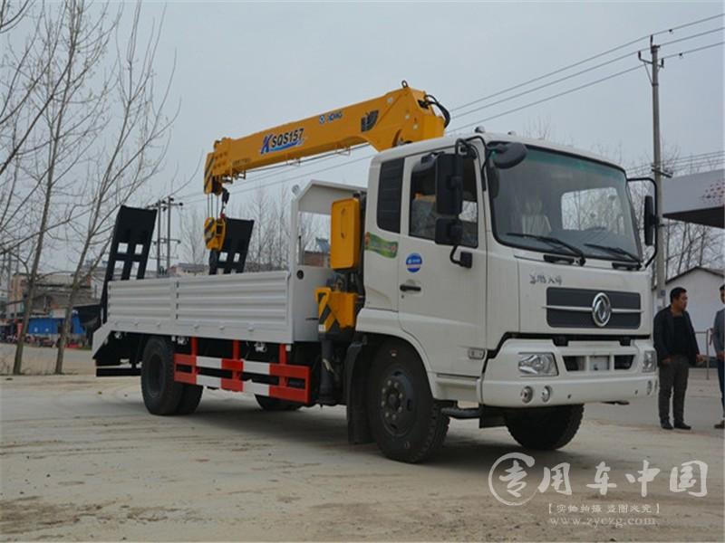 东风天锦6.3吨随车吊图片