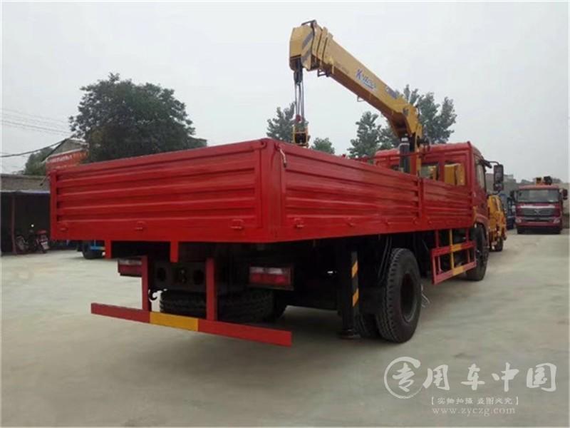 东风专底6.3吨随车吊图片
