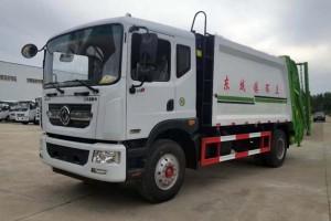 新疆压缩垃圾车维吾尔客户购买东风12方垃圾车