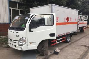 跃进3.4米爆破器材运输车价格¥7.1万