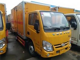 跃进小福星易燃气体厢式运输车 (6)