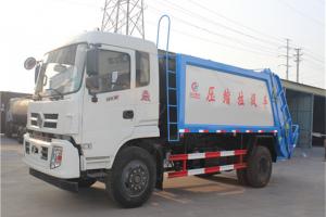 程力压缩式垃圾车常见故障修理