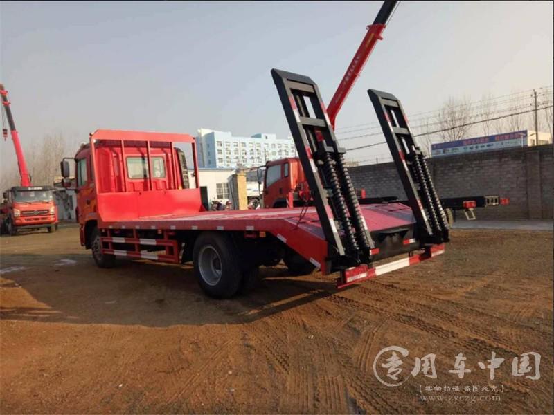 江淮单桥平板车图片