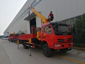 东风福瑞卡6.3吨腾宇随车吊