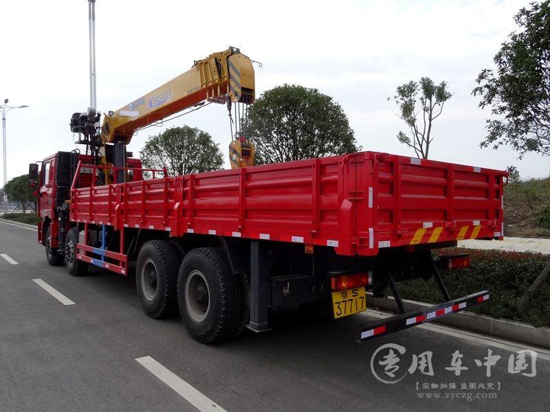 陕汽德龙16吨随车吊图片