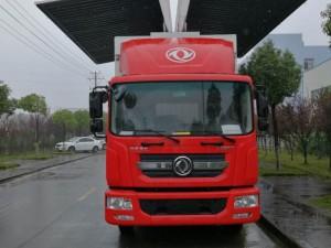 东风多利卡6.8米飞翼车/翼开启厢式车