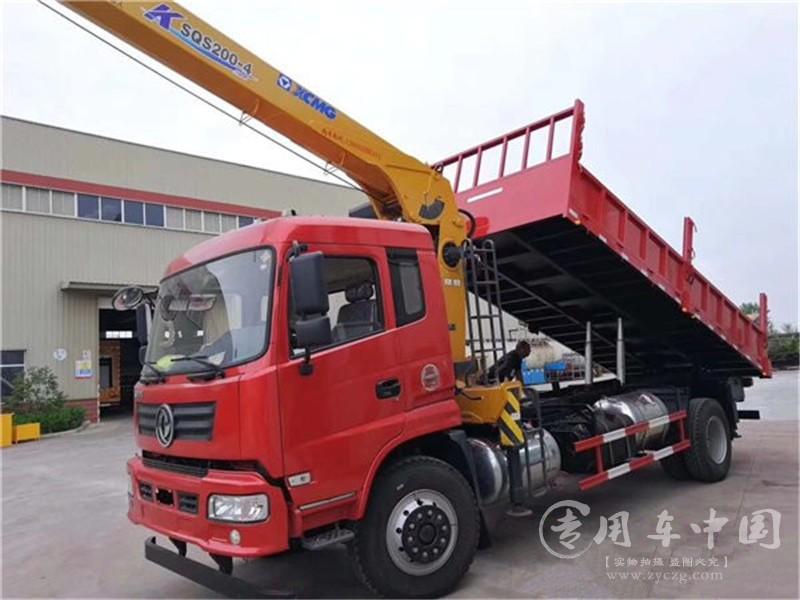 东风御虎6.3吨随车吊图片