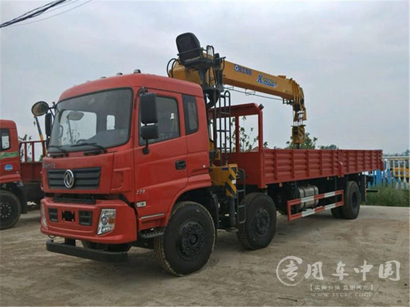 东风专底10吨随车吊图片