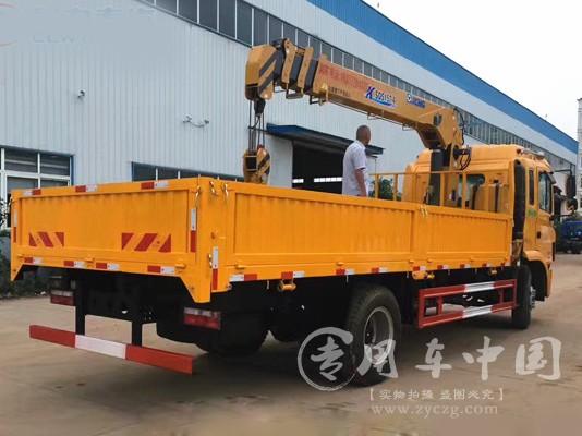 江淮单桥8吨随车吊