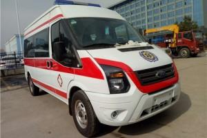 程力福特新世代全顺监护型救护车价格