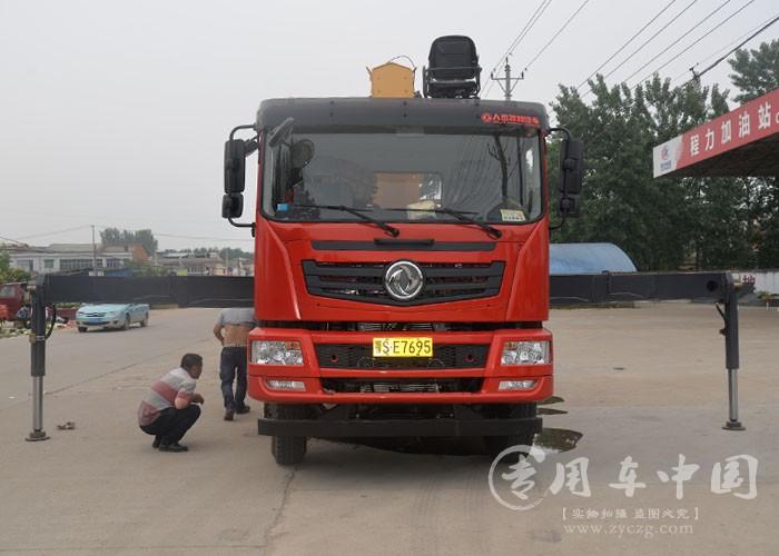 程力东风T5 14吨随车吊